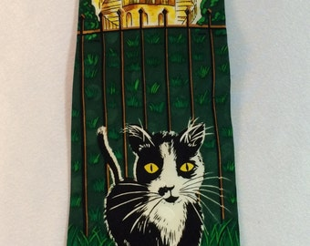 Socks the White House Cat Tie by Addiction