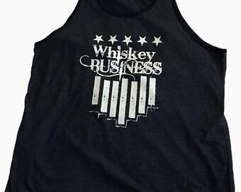 Men's Whiskey Business Tank