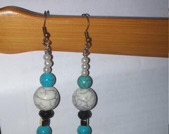 Candy Coated Drop Earrings