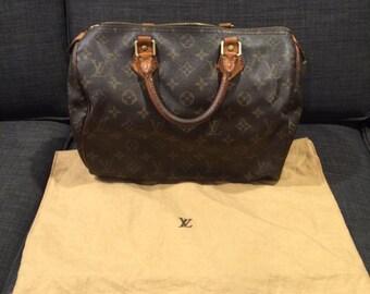 Authentic vintage Louis Vuitton speedy 30