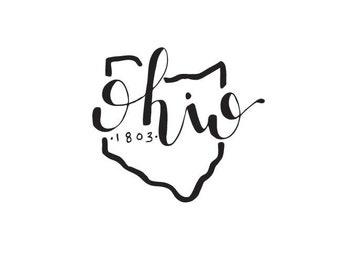 Ohio - printable download