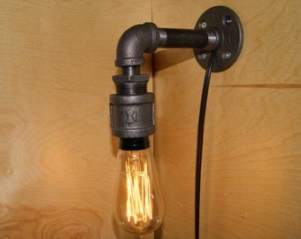 Industrial Pipe Sconce
