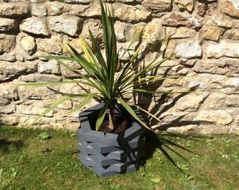 Hexagon Layered Planter (Free Delivery) garden planter, outdoor planter