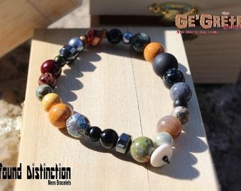 Ge'Grete Originals , Profound Distinction Men's Bracelet  : Ignite