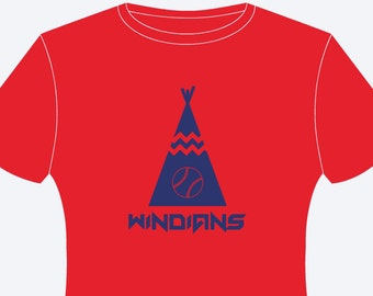 Cleveland Indians Windians Teepee T-Shirt