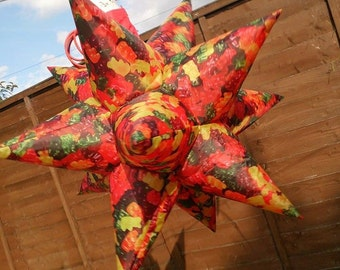 2 x gummy bear fabric inflatable stars! 70cm length MADE TO ORDER