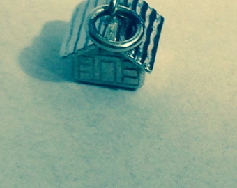 Vintage Sterling Silver Charm - Swiss Chalet