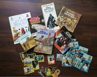 1970-80 Star Wars books and trading cards