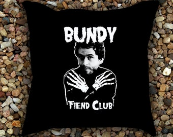 Ted Bundy Fiend Club Pillow