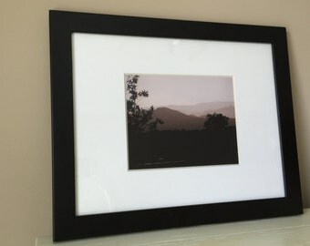 Blue Mountains, Santa Fe, New Mexico, Framed Photograph