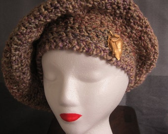 Jaunty Crochet Beret
