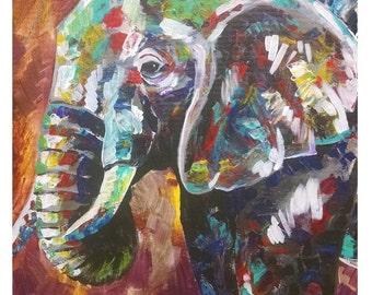 Elephant (11 x 14 print)