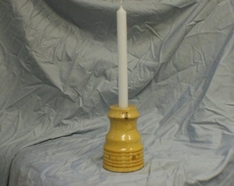 Wood Candle Holder