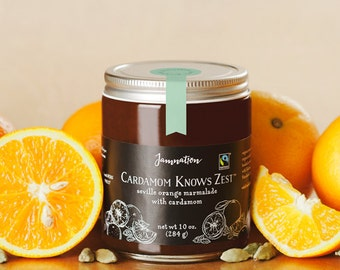 Cardamom Knows Zest: seville orange marmalade with cardamom