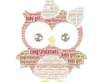 Baby Girl Owl