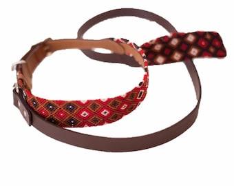 Extra Large Collar & Leash Set