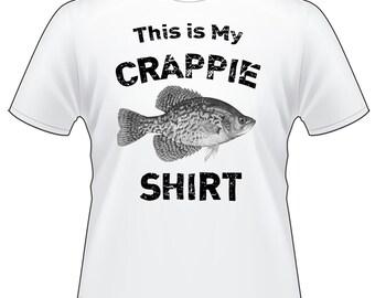 Crappie Shirt Short Sleeve T-Shirt