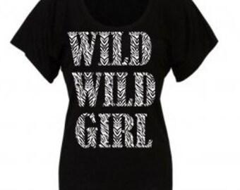Black top WILD WILD GIRL