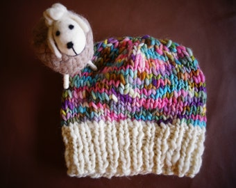 Hat 100% wool of sheep