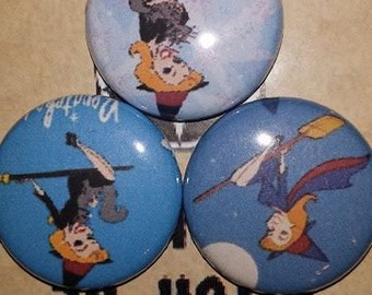 BeWitched 1 inch pin button