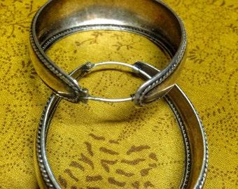 Bohemian 'Tibetan Style Silver  Earring