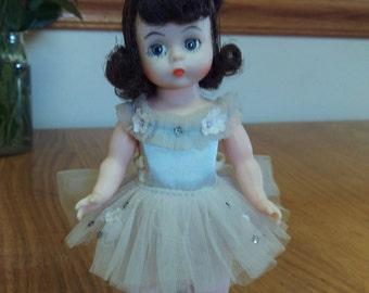 Vintage Madame Alexander Ballerina Doll  With Stand