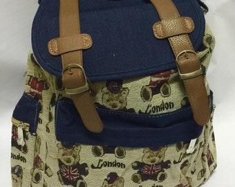 woman fashion backbag.