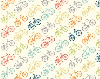 Ride Multi, Just for Fun Collection, Birch Fabrics, Organic Quilting Cotton