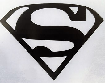 DC Superman Logo Decal