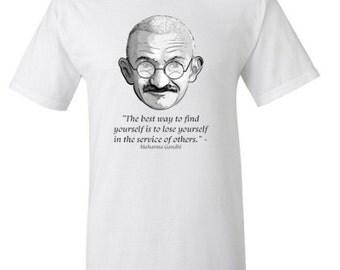 Ghandi Short Sleeve T-Shirt