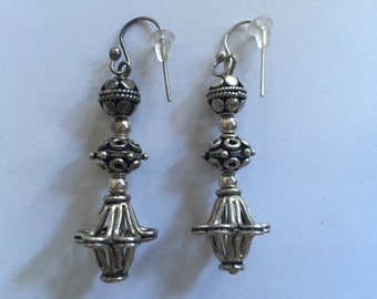Sterling Silver Earrings From Bali