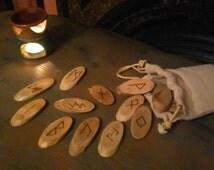 Driftwood Runes Set