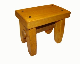 Childrenu0027s stool bench child furniture bench for the baby furniture for children  sc 1 st  Etsy : child wooden stool - islam-shia.org