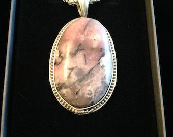 Pink Labadorite Pendant