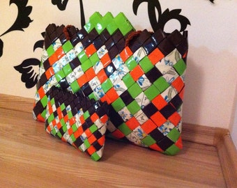 Candy Wrapper Set ( wallet and purse)