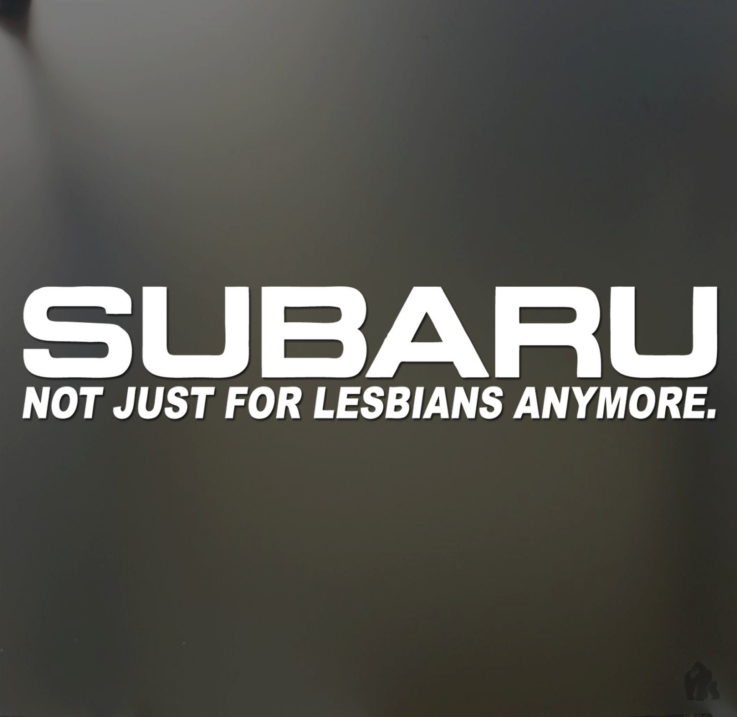 Stickers To Decorate Walls Subaru Not Just For Lesbians Anymore Sticker Funny Jdm Race