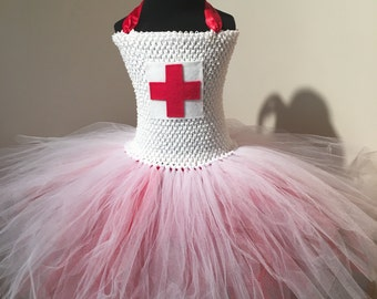 Handmade Nurse Tutu Dress
