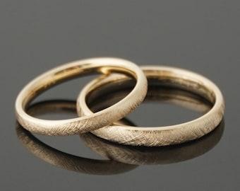 Wedding rings VINTAGE 8 k or 14 k gold