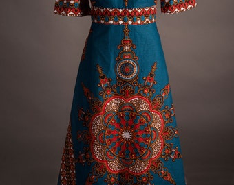 NJINGA empire waist dress