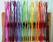 50 Candy Color Wood Diffuser Sticks, 10inch. mix size 2.5 - 4 mm dia.