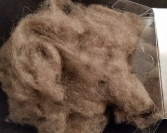 Premium Qiviut  MUSK OX Spinning Fiber in CLOUD form 28 grams