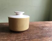 Retro unmarked ceramic sugar bowl