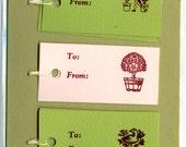 Letterpress Gift Tags, Cherry Gardens