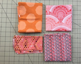 Tula Pink coral bundle