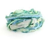 Creative Yarn Ribbon Variety Pack, Lush Landscape, 30 metres, turquoise blue lime green embellishment trim