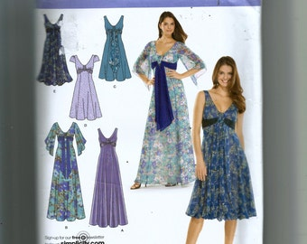 Simplicity Misses' Dress In Three Lengths Pattern 3785