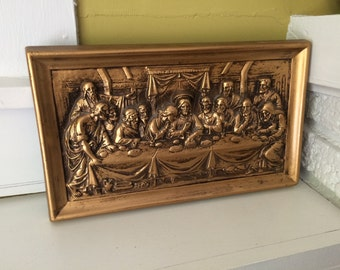 The Last Supper / Resin Composite Plaque