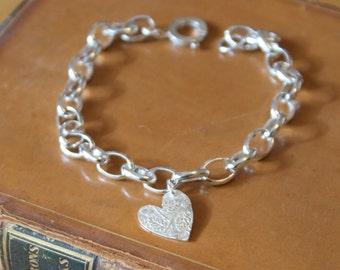 Lucky Silver Threepenny Charm Bracelets