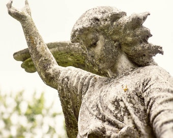 angel statue, angel cemetery photography, nashville cemetery art, cemetery art, angel art