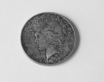 1922 Peace Silver Dollar-Philadelphia Mint-Dad's Coin Bottle-Silver Dollar Coin-Peace Coin-Silver Dollars-Collectible Coins